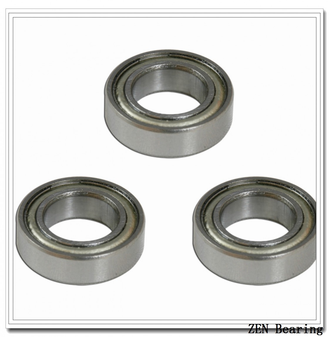 12 mm x 21 mm x 7 mm  ZEN 3801-2RS ZEN Bearings