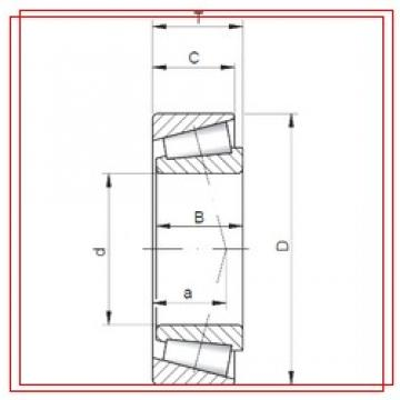 200 mm x 300 mm x 62 mm  ISO JHM840449/10 ISO Bearings