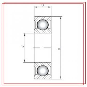 170 mm x 215 mm x 22 mm  ISO 61834 ISO Bearings