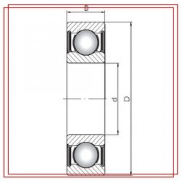 140 mm x 210 mm x 33 mm  ISO 6028-2RS ISO Bearings