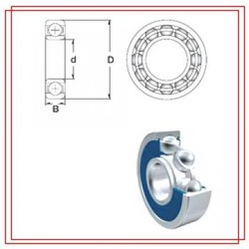 40 mm x 80 mm x 18 mm  ZEN S6208-2RS ZEN Bearings